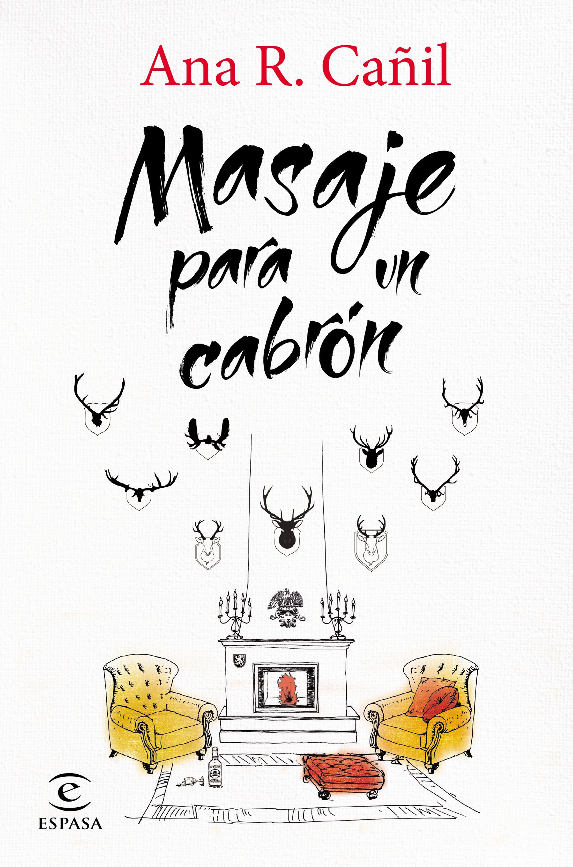 Resultado de imagen de portada de masaje para un cabrón