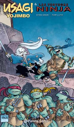 Usagi Yojimbo y las Tortugas Ninja