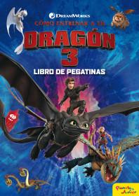 Cómo entrenar a tu dragón 3. Libro de pegatinas