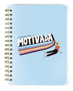 Libreta A5 cartón MDP Motivada