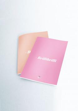 Pack 2 cuadernos cosidos LVR - METALIZADOS