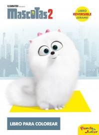 Mascotas 2. Libro para colorear