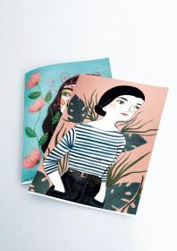 Pack 2 cuadernos cosidos María Hesse
