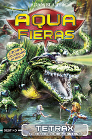 Tetrax, el cocodrilo del pantano
